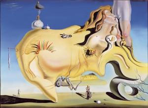 Salvador Dalí - El Gran Masturbador